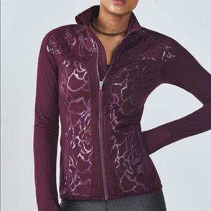 Fabletics Jojo Purple Jacket
